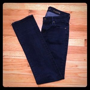 7 For All Mankind Straight Leg Size 28 Jeans 7fam